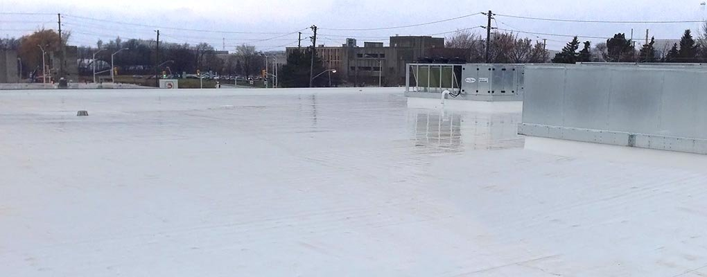 PVC Commerical Roofing Project