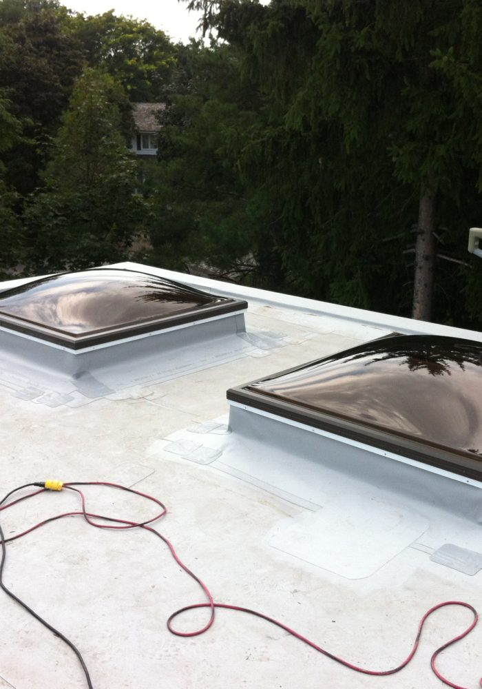 instalation of new skylight