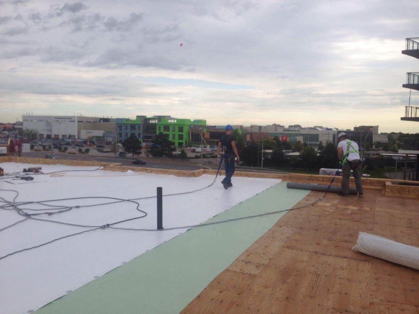 New Flat Roof Project